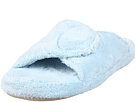 Acorn - New Spa Slide- Wide (Powder Blue Fabric) - Footwear
