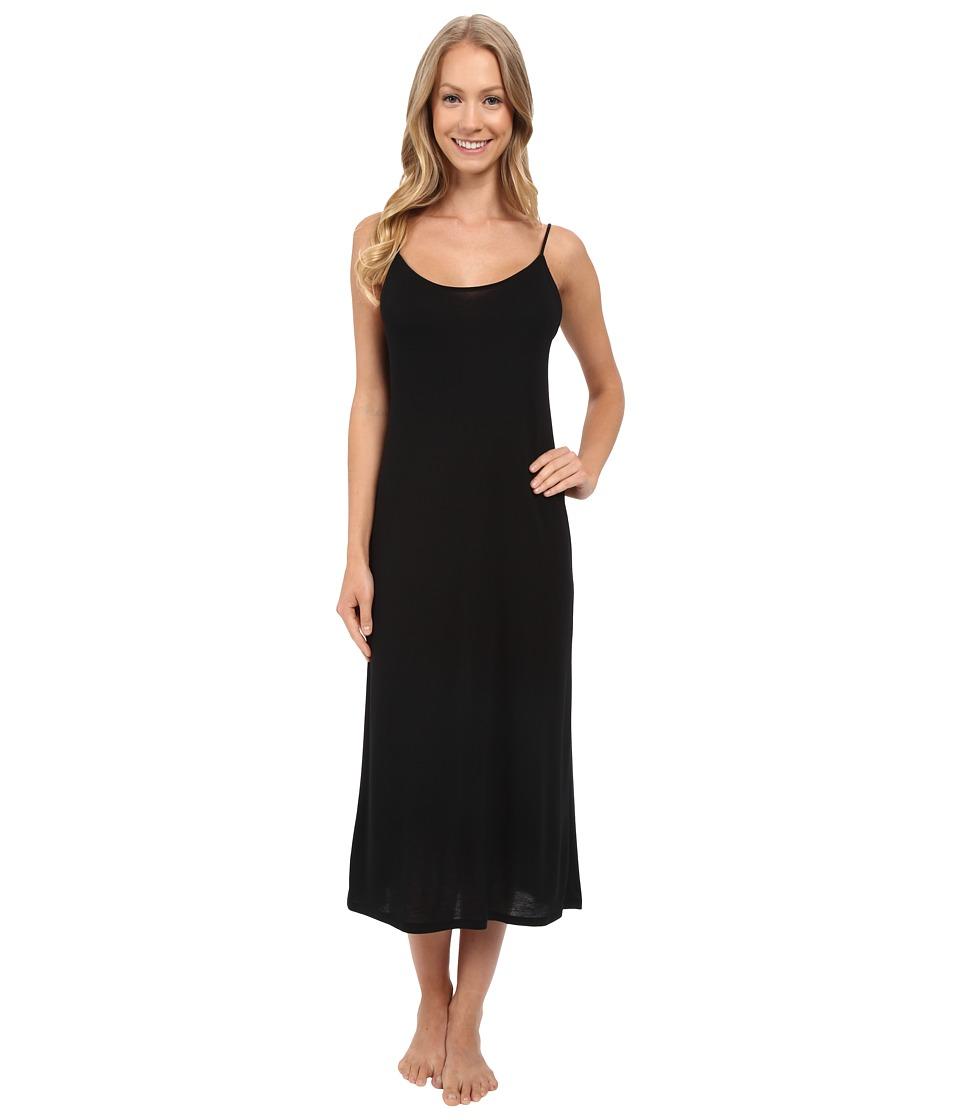 Natori - Shangri-La Gown (Black) Womens Pajama