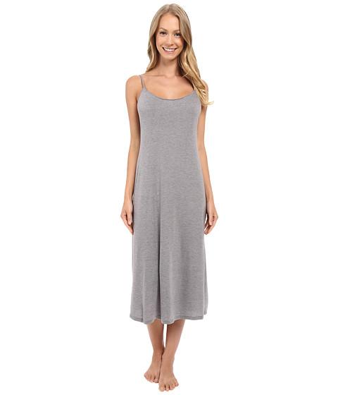 Natori Plus Size Shangri-La Gown (Heather Grey) Women's Pajama