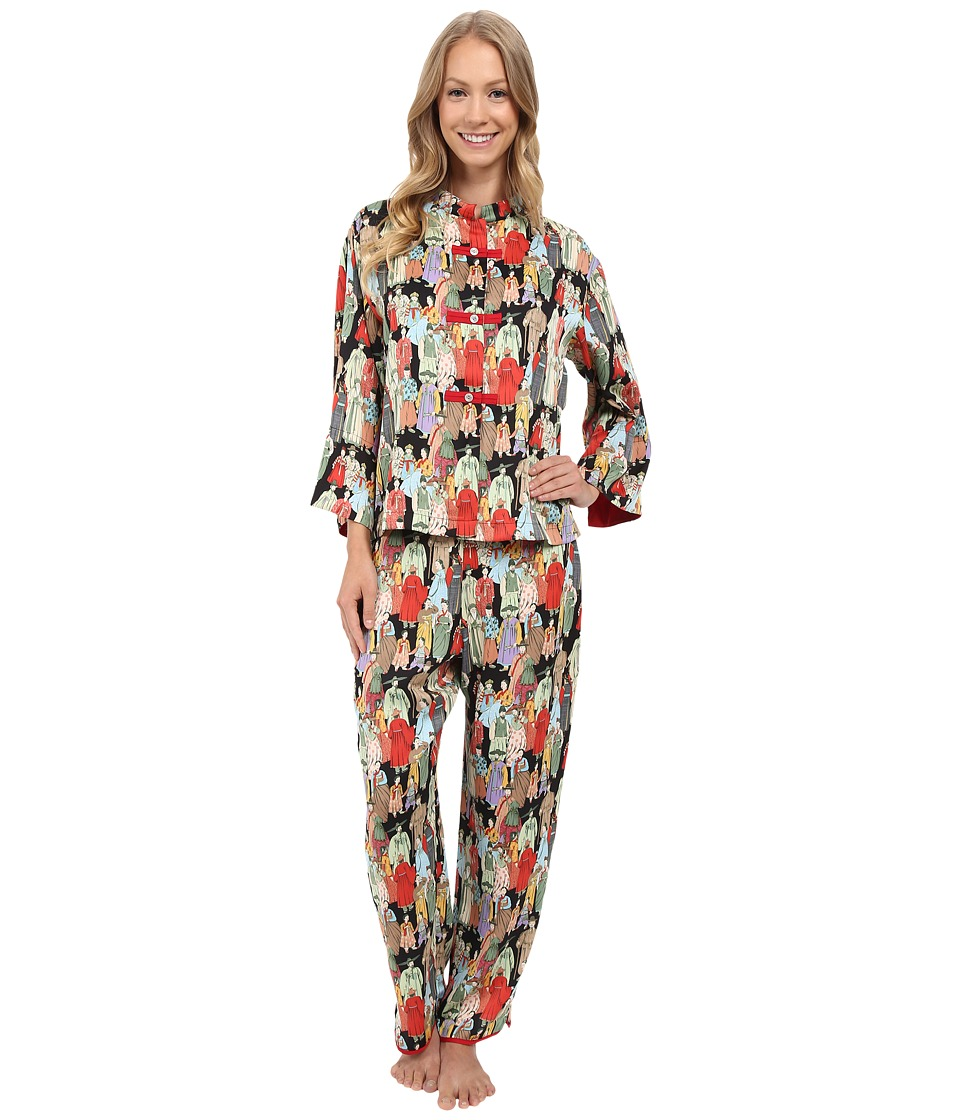 Natori - Dynasty PJ (Black) Womens Pajama Sets