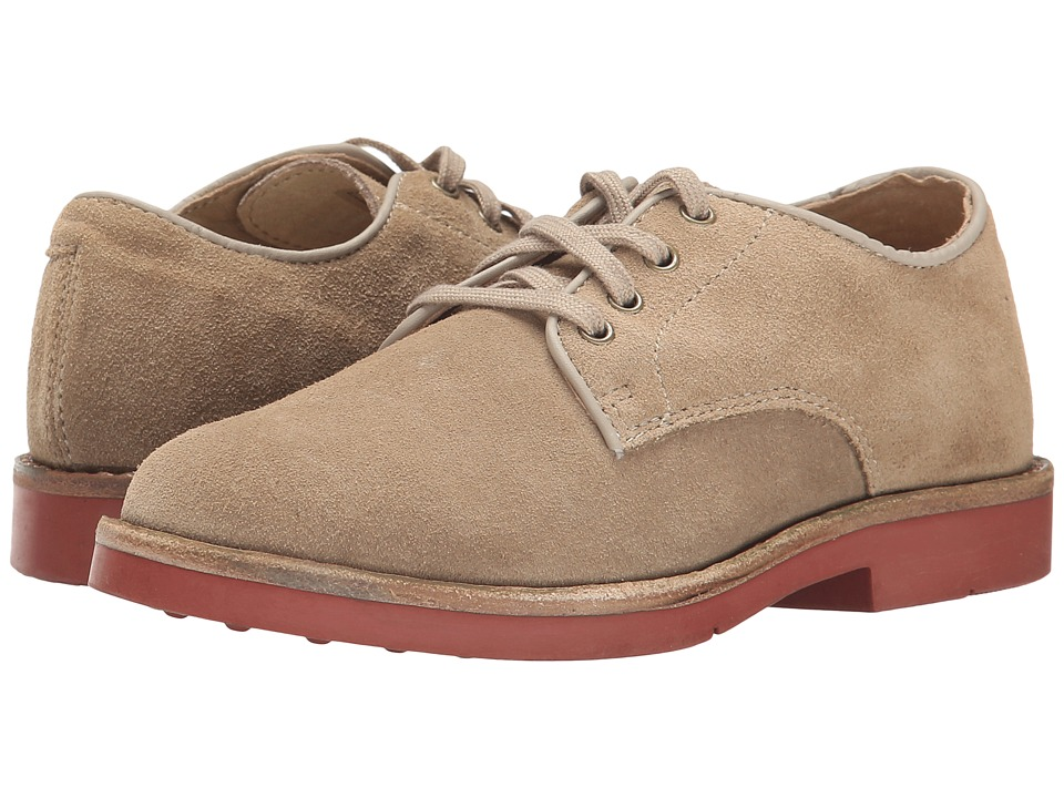 Polo Ralph Lauren Kids - Barton Oxford (Little Kid/Big Kid) (Dirty Buck Suede) Boys Shoes