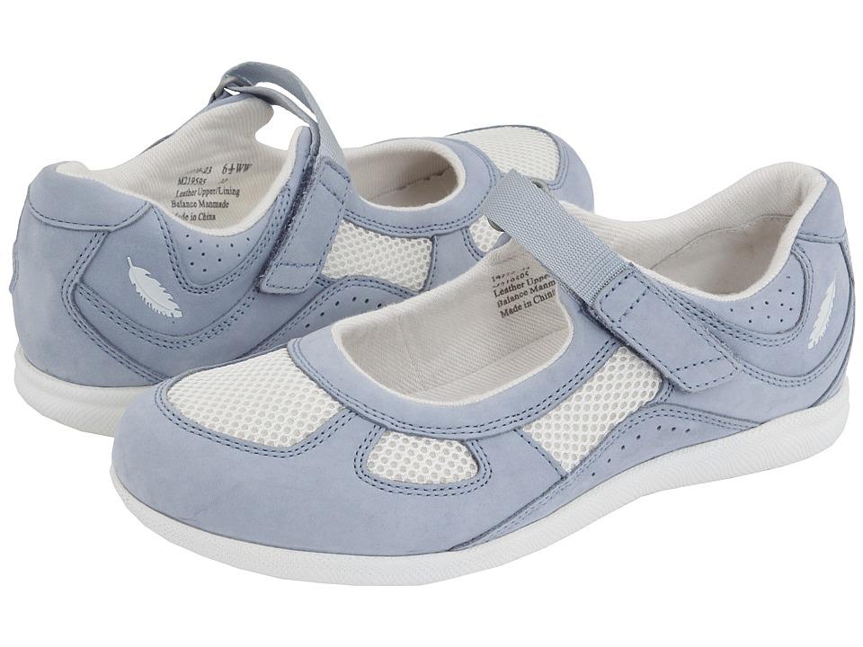 Drew Delite (Sky Blue Nubuck/White Mesh) Maryjane Shoes