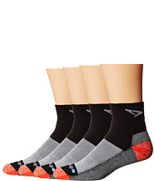 Drymax Sport Socks - Trail-Running Quarter-Crew 4-Pair Pack