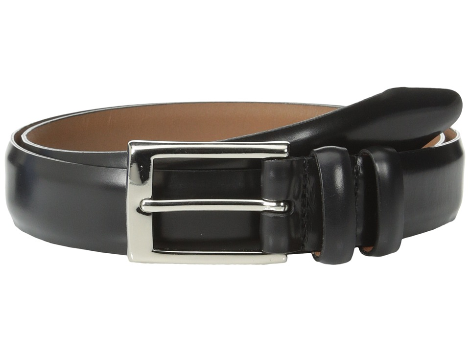 Allen Edmonds Polished Cobbler Black Polished Cobbler Mens Belts