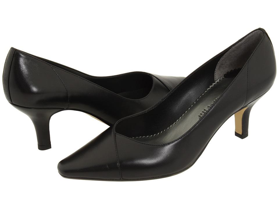 Bella-Vita Wow (Black Kidskin) High Heel Shoes