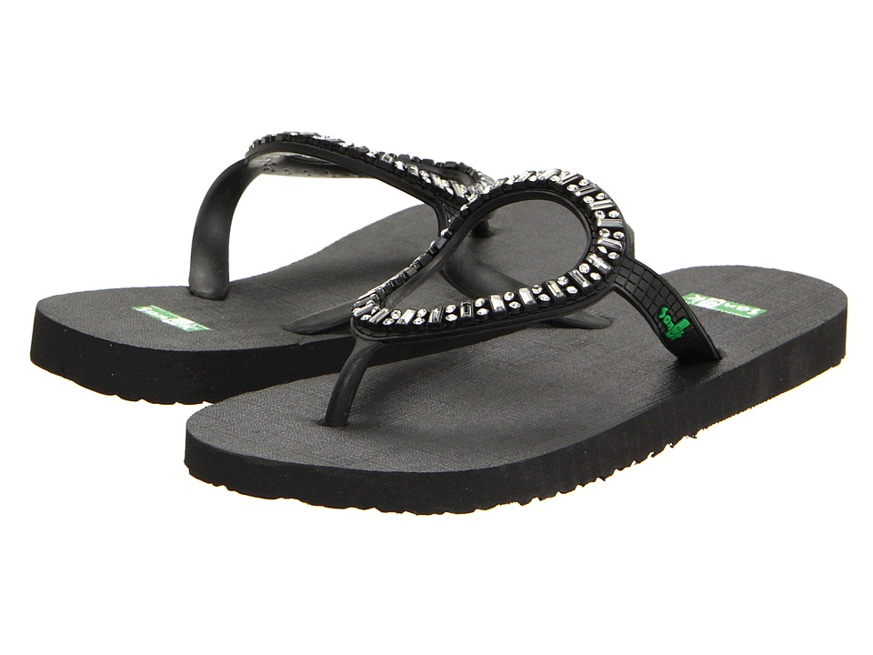 Sanuk Ibiza Monaco (Black) Sandals