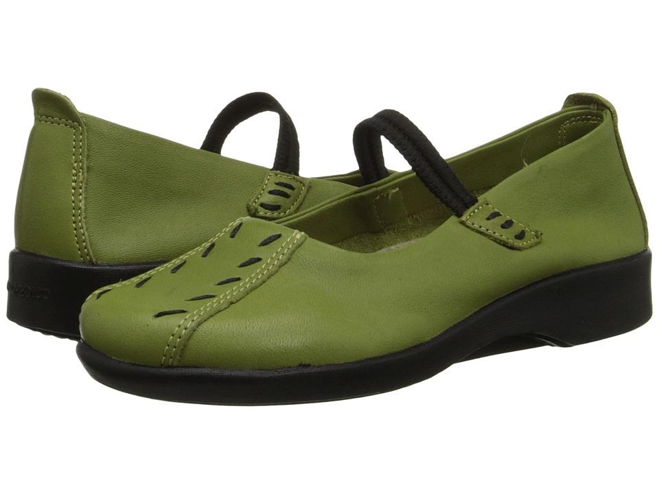 Arcopedico Shawna (Green) Maryjane Shoes