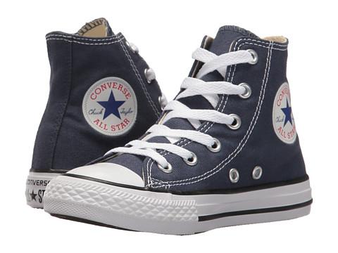 Converse Kids Chuck Taylor® All Star® Core Hi (Little Kid) - Navy