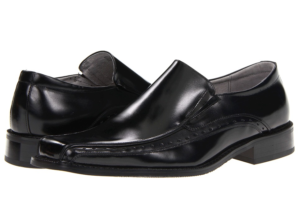 Stacy Adams - Danton (Black) Mens Slip-on Dress Shoes