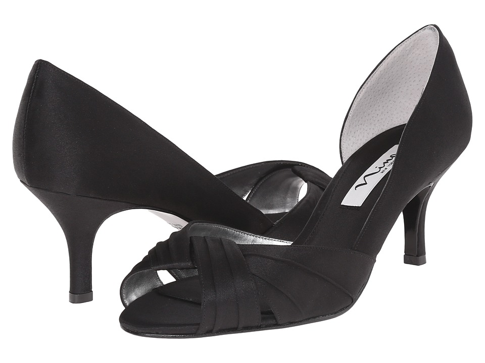 Nina Culver (Black Luster Satin) Women