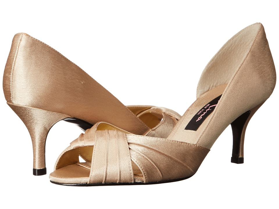 Nina - Culver (Gold Satin) Women