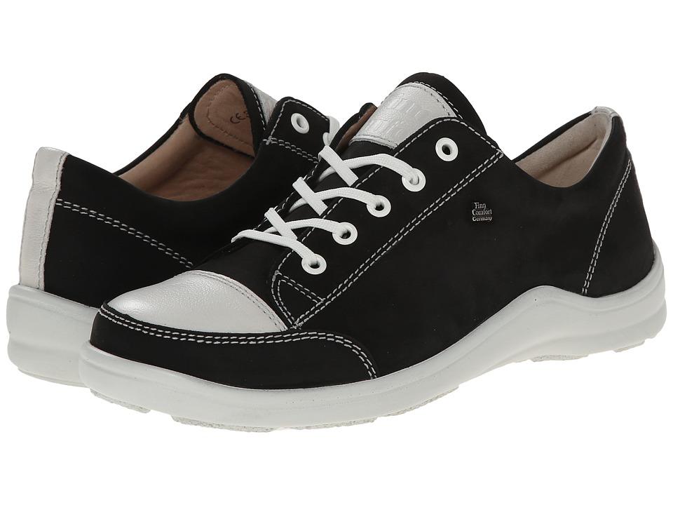 Finn Comfort Soho 82743 Black/Jasmine Womens Lace up casual Shoes