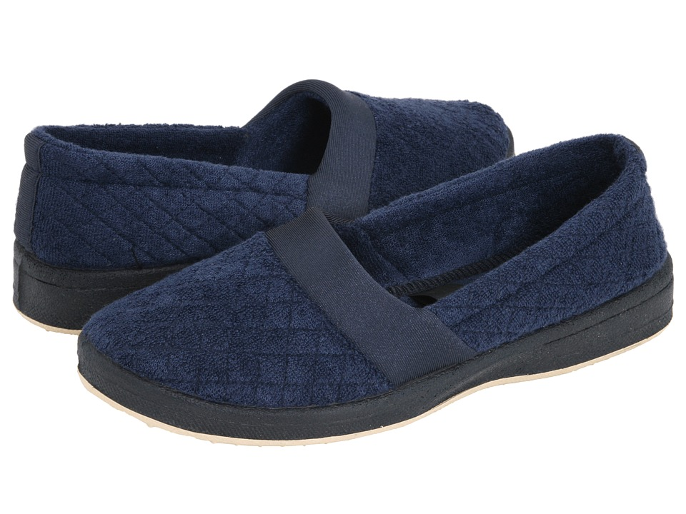 Foamtreads Coddles Navy Womens Slippers