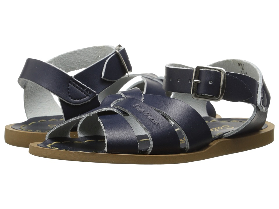 Salt Water Sandals The Original Sandal (Toddler/Little Kid) (Navy) Kids Shoes