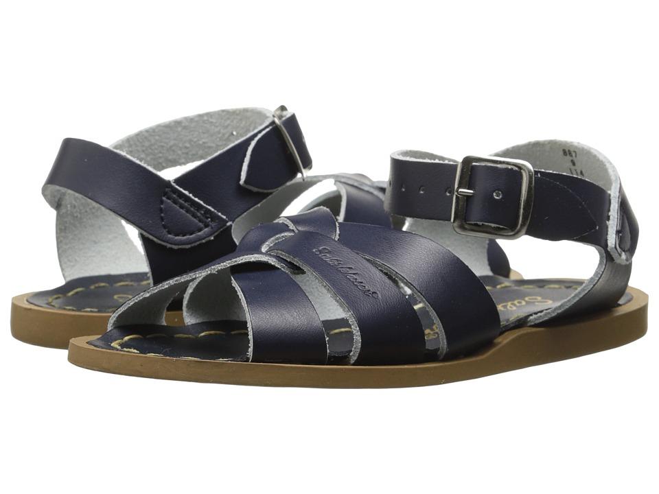 Salt Water Sandal by Hoy Shoes - The Original Sandal (Toddler/Little Kid) (Navy) Kids Shoes