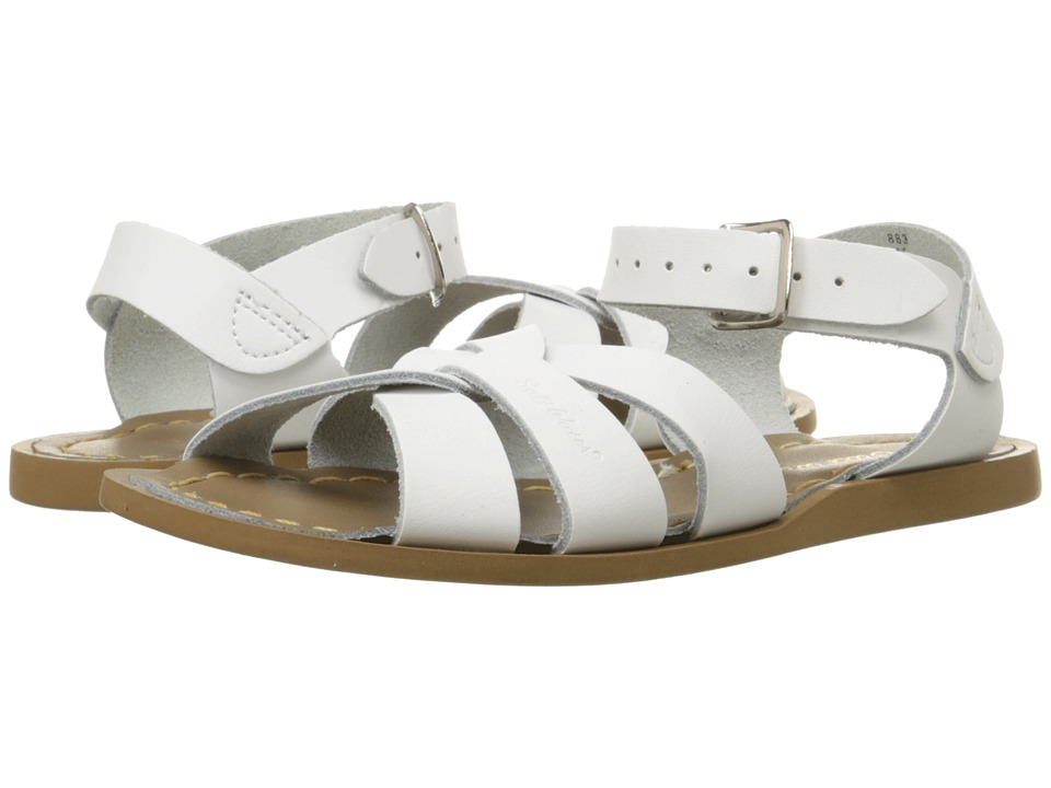 Salt Water Sandals The Original Sandal (Big Kid/Adult) (White) Girls Shoes