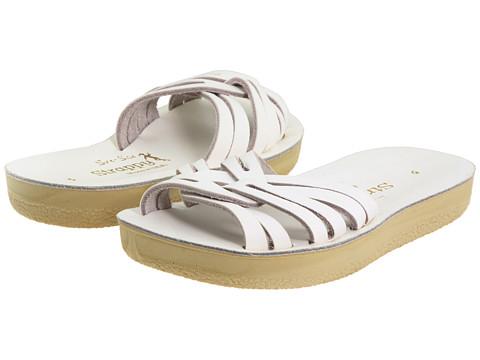 Salt Water Sandal by Hoy Shoes Sun-San - Strappy Slide (Toddler/Little Kid) - White