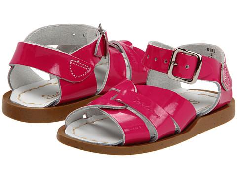 Salt Water Sandal by Hoy Shoes The Original Sandal (Infant/Toddler) - Shiny Fuchsia