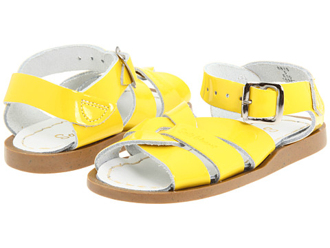 Salt Water Sandal by Hoy Shoes The Original Sandal (Infant/Toddler) - Shiny Yellow