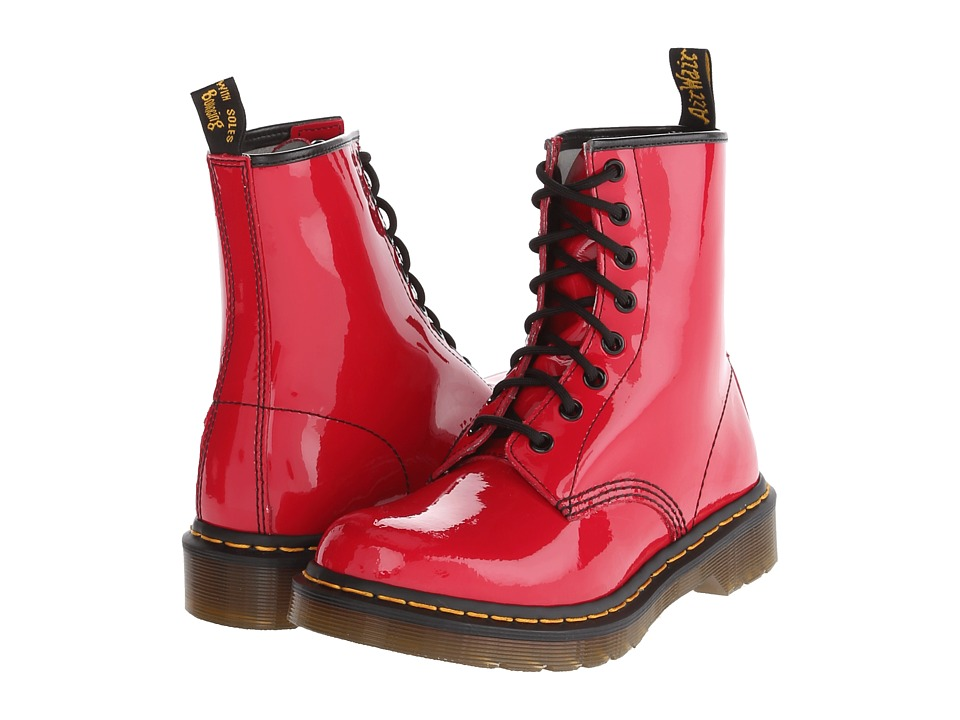 Dr. Martens - 1460 W (Red Patent) Women