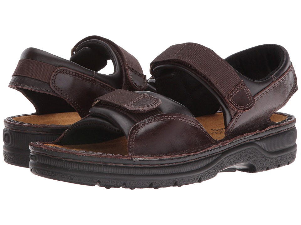 Naot Footwear Andes Walnut Leather Mens Sandals