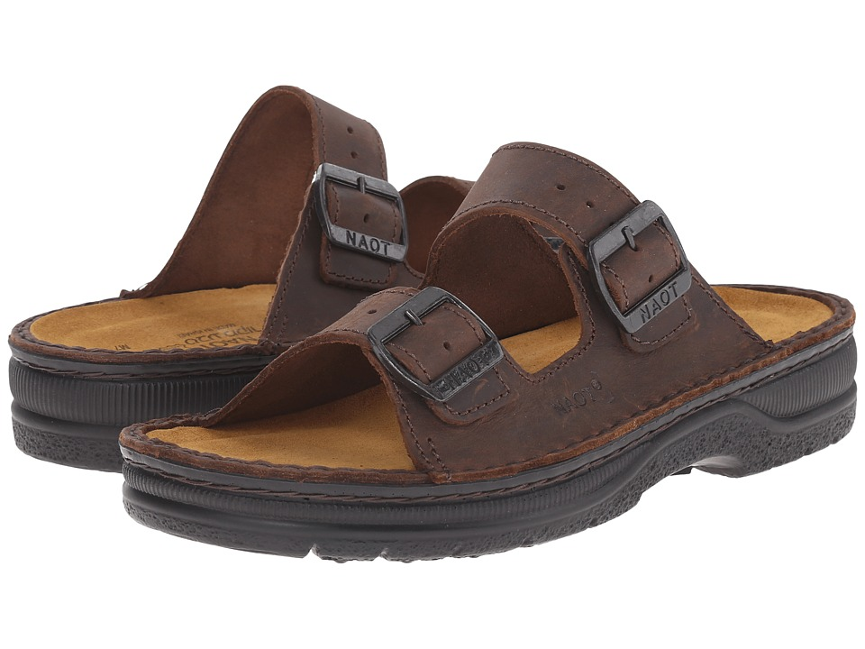 Naot - Mikaela (Crazy Horse Leather) Womens Sandals
