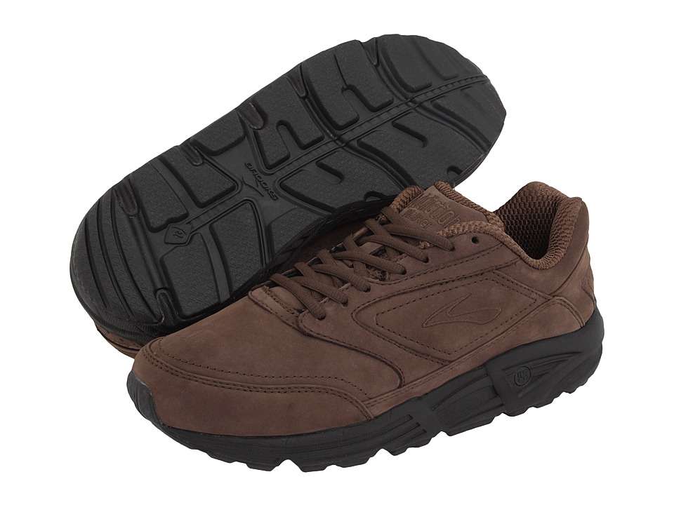 Brooks - Addictiontm Walker (Brown Nubuck) Mens Walking Shoes