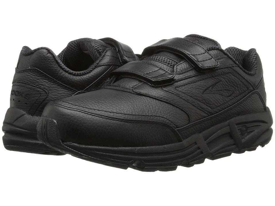 Brooks - Addictiontm Walker V-Strap (Black) Mens Walking Shoes