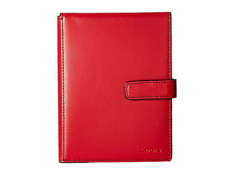 Lodis Accessories Audrey Flip Ticket/Passport Wallet - Red