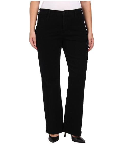 Cheap Nydj Plus Size Plus Size Sarah Classic Overdye Boot Leg Black