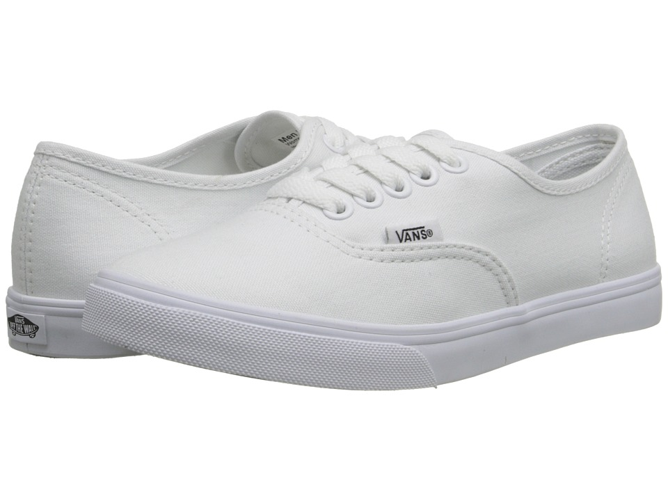 Vans Authentictm Lo Pro (True White/True White) Skate Shoes