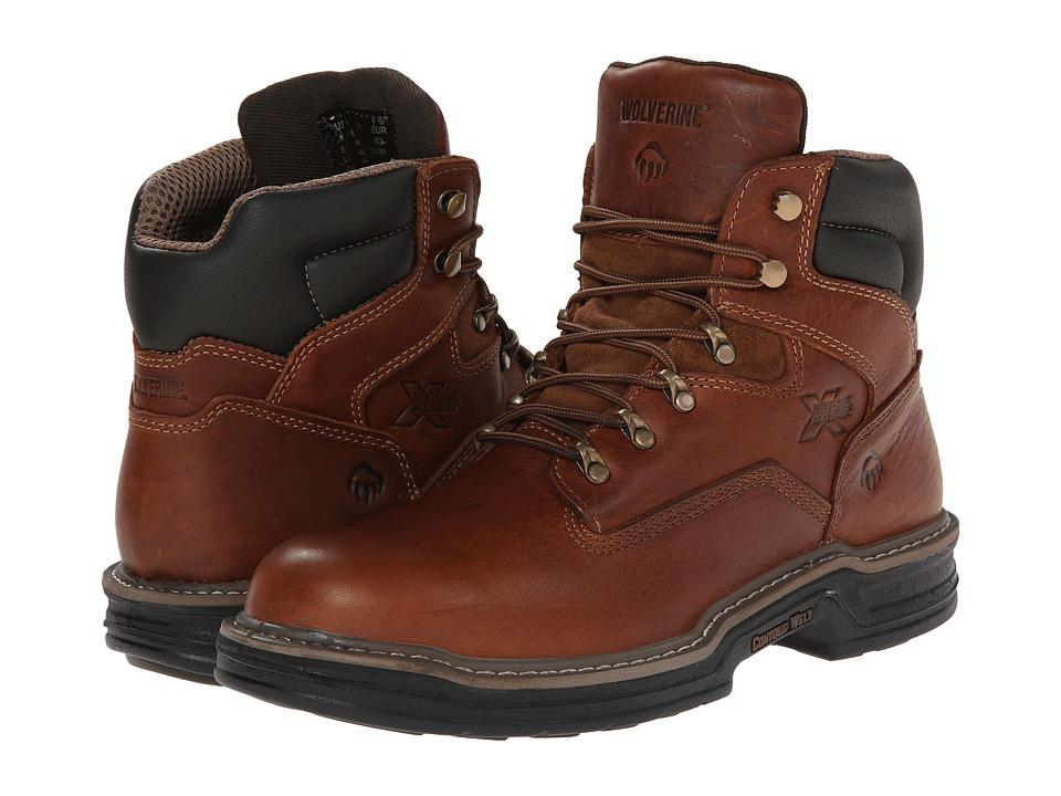 Wolverine - Raider Multishoxtm 6 (Brown) Mens Work Boots