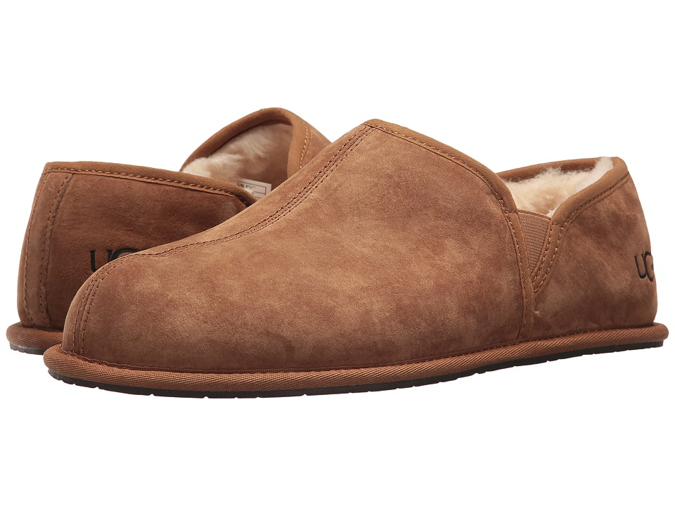 Ugg Scuff Romeo II (Chestnut (Suede)) Men's Slippers