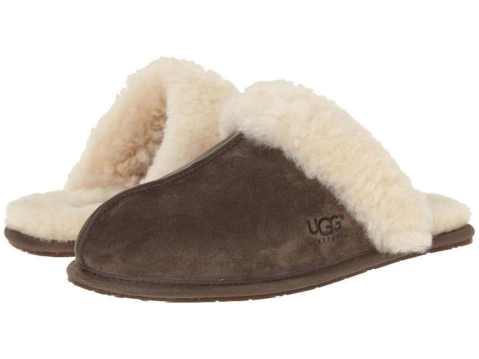 UGG Scuffette II (Espresso (Suede)) Slippers
