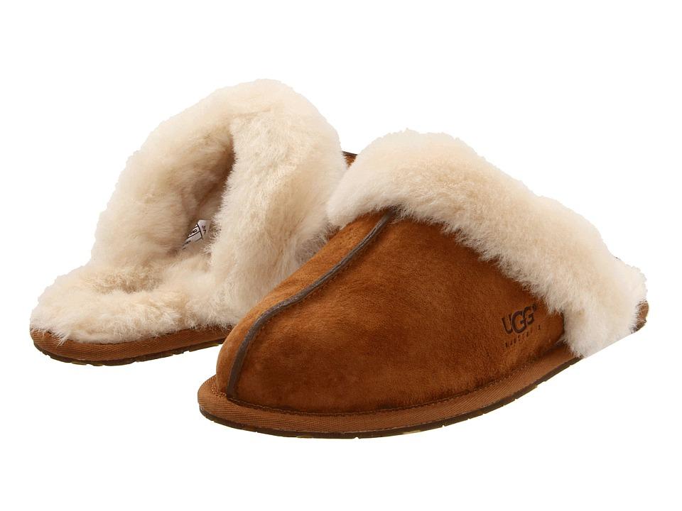 UGG Scuffette II (Chestnut (Suede)) Slippers