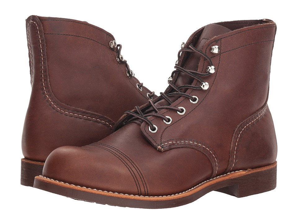 Red Wing Heritage - 6 Iron Ranger (Amber Harness) Men's L...