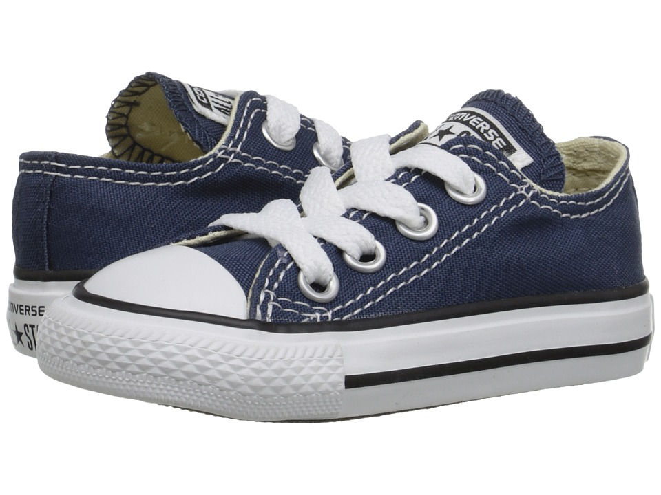 Converse Kids Chuck Taylor All Star Core Ox (Infant/Toddler) (Navy) Kids Shoes