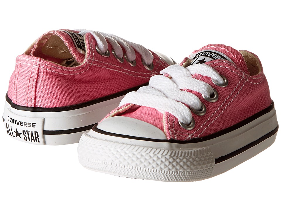 Converse Kids Chuck Taylor All Star Core Ox (Infant/Toddler) (Pink) Kids Shoes