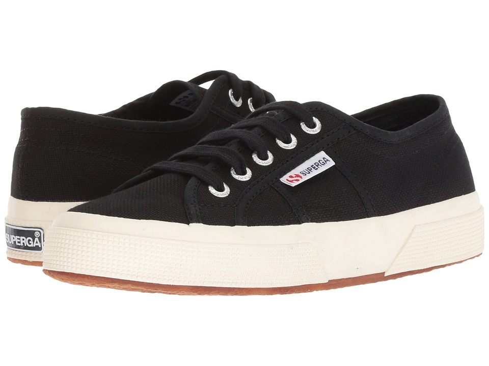 Superga 2750 COTU Classic Black Lace up casual Shoes