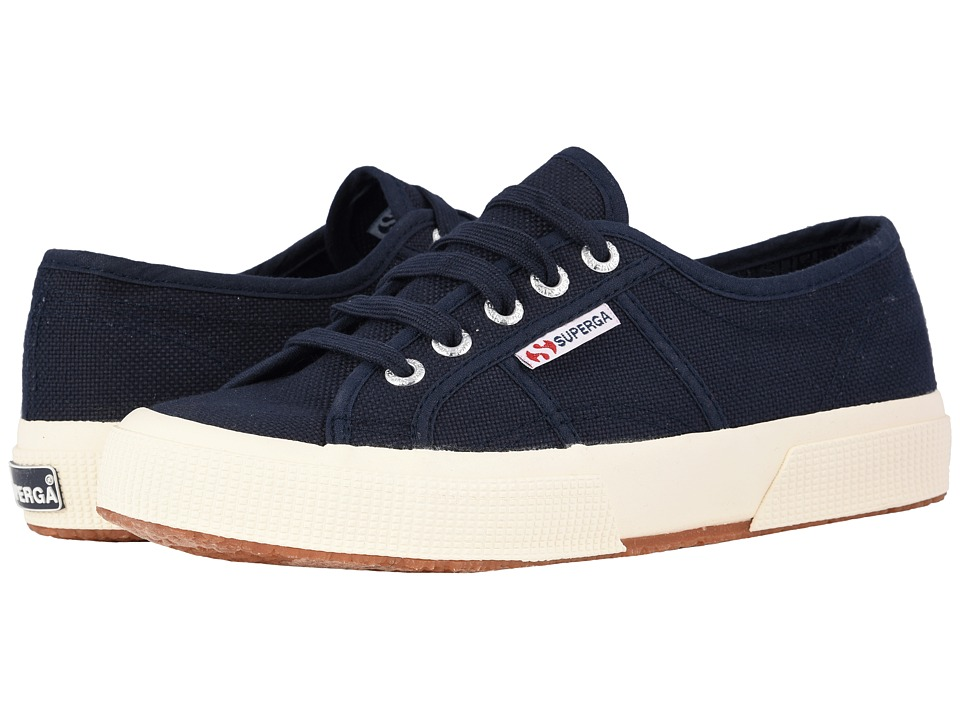 Superga 2750 COTU Classic Navy Lace up casual Shoes