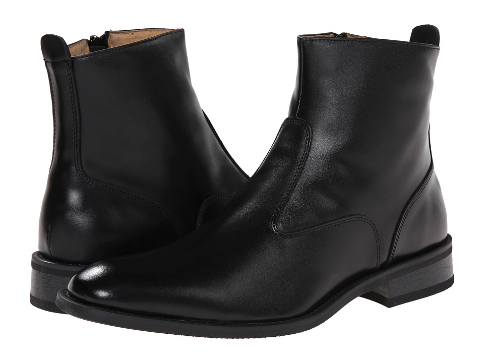 Giorgio Brutini - Fielding (Black Leather) Mens Dress Pull-on Boots