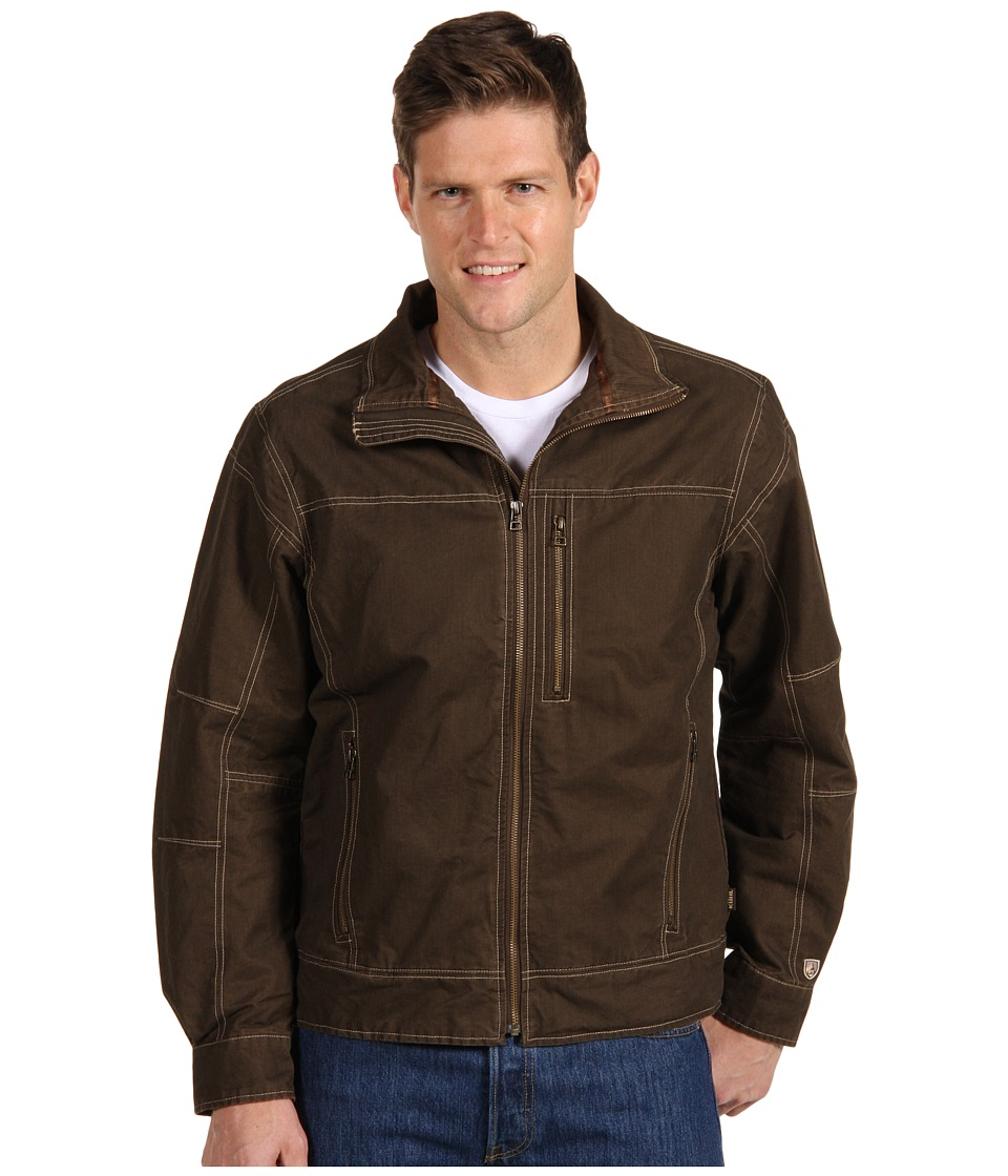 Kuhl Burr Jacket Brown Mens Jacket