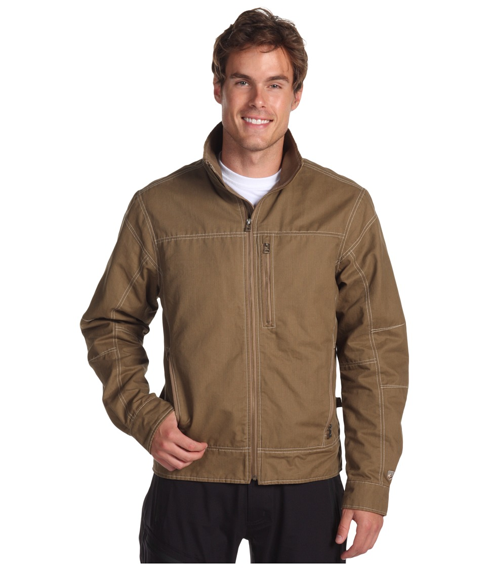Kuhl Burr Jacket Khaki Mens Jacket