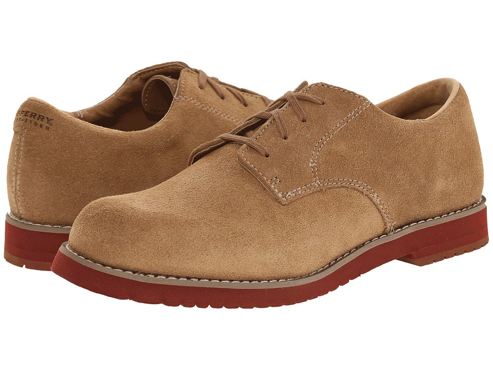 Sperry Kids - Tevin (Little Kid/Big Kid) (New Dirty Buck Suede) Boys Shoes