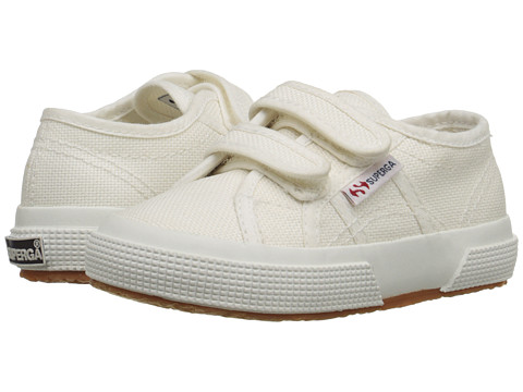 Superga Kids 2750 JVEL Classic (Toddler/Little Kid) - White