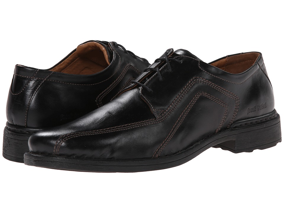 Josef Seibel - Sander (Roma Black) Mens Lace-up Bicycle Toe Shoes