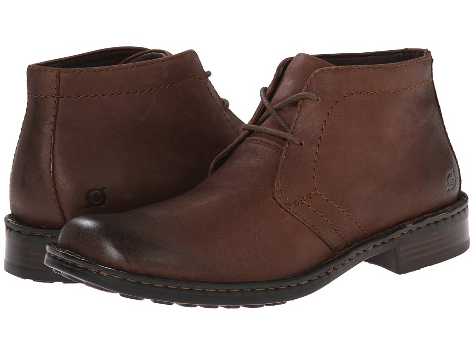 Born Harrison (Chestnut (Dark Brown) Leather) Men