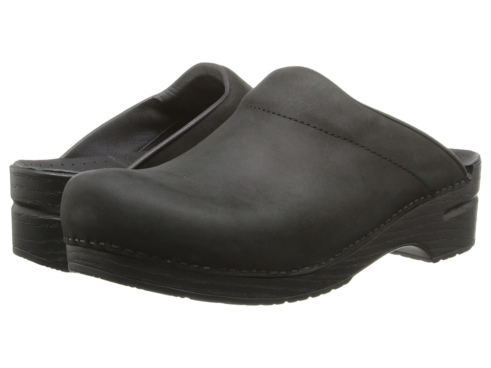 Dansko - Karl (Black Oiled) Men's Clog Shoes