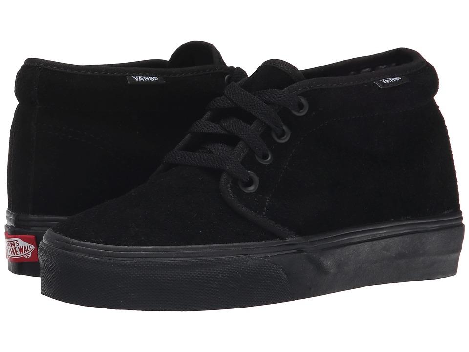 Vans - Chukka Boot Core Classics (Black/Black (Suede)) Shoes