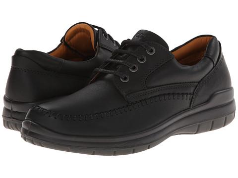 ECCO - SeaWalker Tie (Black Leather) - Footwear